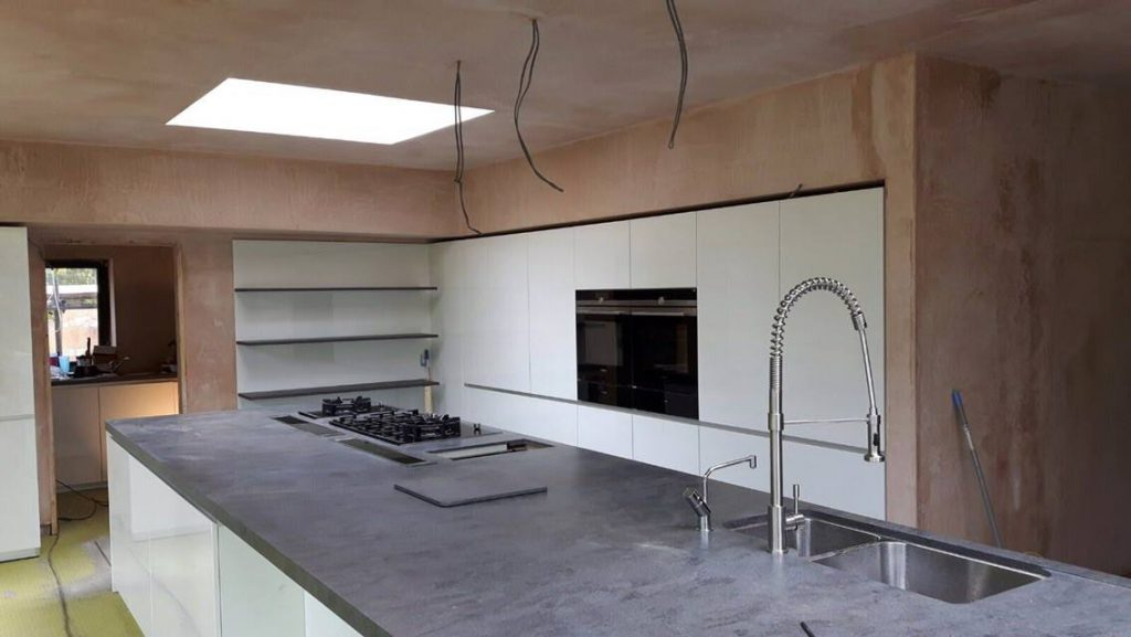 Contemporary Kitchen in Edgbaston