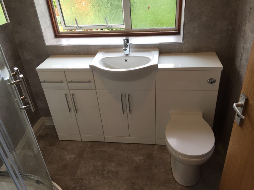 New Bathroom Fitted in Shirley